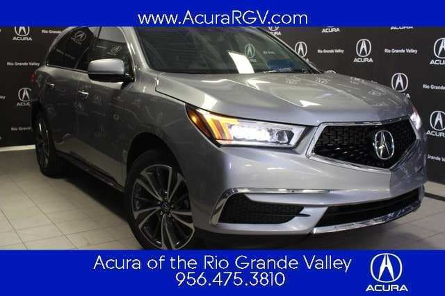 11 A 2019 Acura MDX Spy Shoot