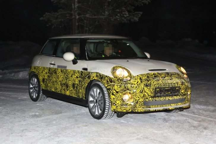 11 A 2020 Spy Shots Mini Countryman Ratings