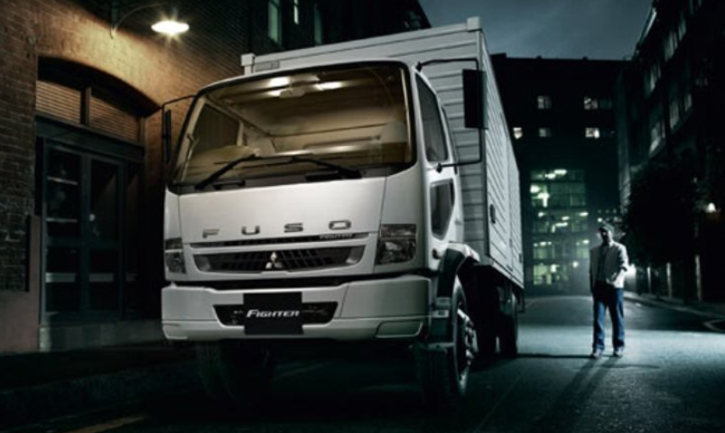 11 A Mitsubishi Canter 2020 Spy Shoot