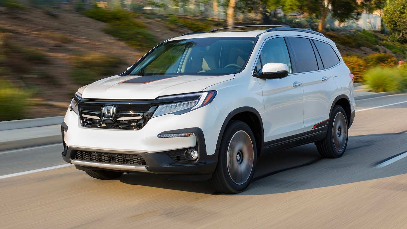 11 All New 2019 Honda Pilot Spy Photos Redesign And Concept