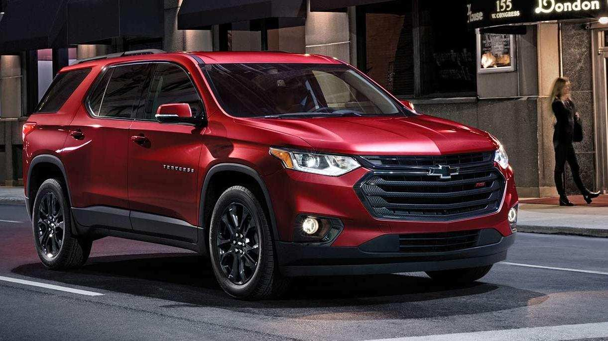 11 Best 2019 Chevy Traverse Interior