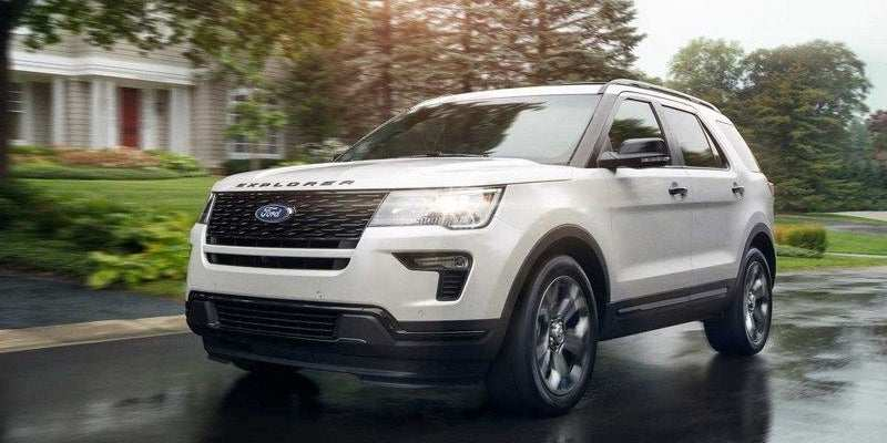 11 New 2019 The Ford Explorer Concept
