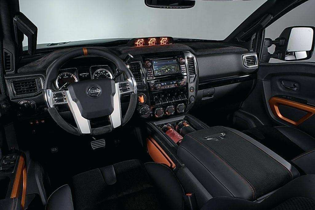 11 The 2019 Nissan Titan Interior Wallpaper