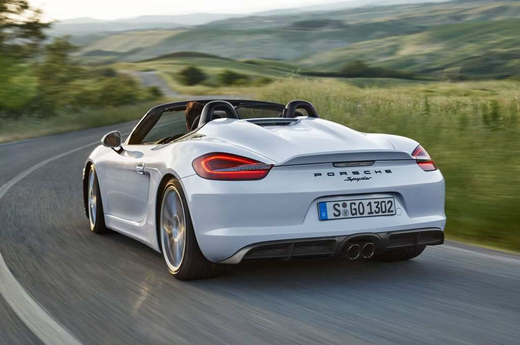 11 The Best 2019 Porsche Boxster Spyder New Model And Performance