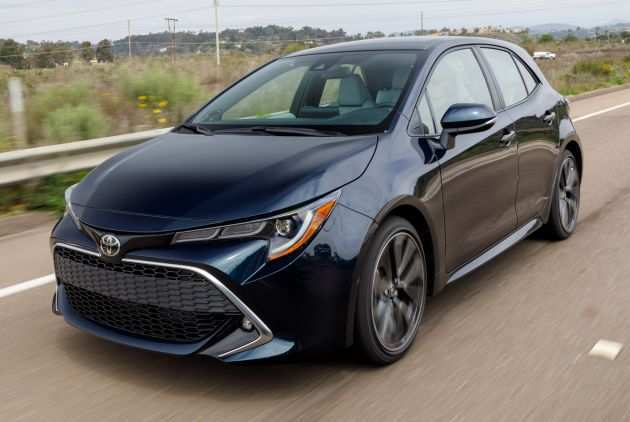 11 The Best 2019 Toyota Corolla Hatchback Redesign