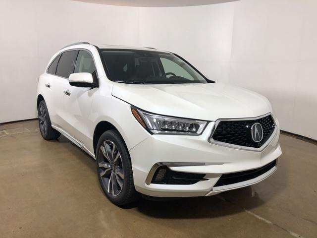 12 A 2019 Acura MDX Spy Shoot