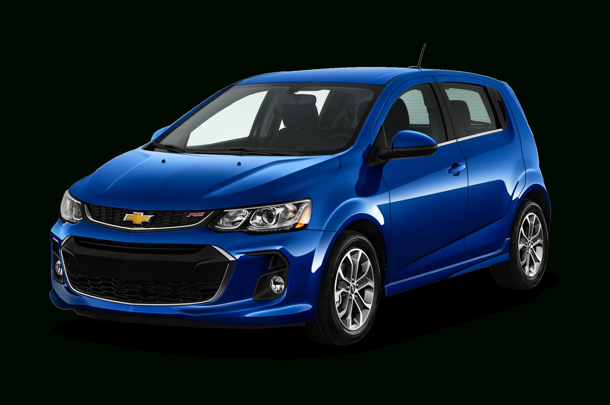 12 A 2020 Chevy Sonic Interior