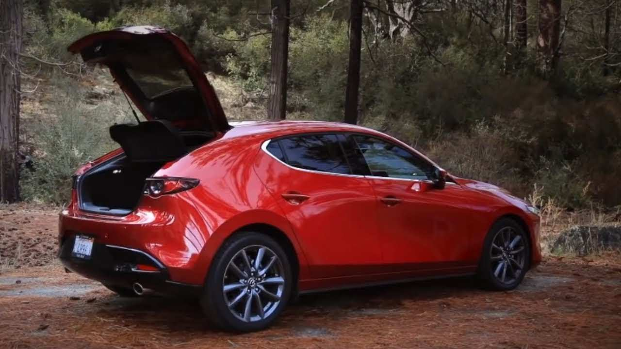 12 A 2020 Mazda 3 Update Spy Shoot
