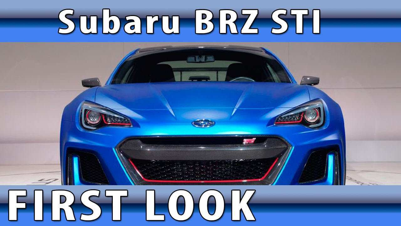 12 A 2020 Subaru Brz Sti Specs And Review