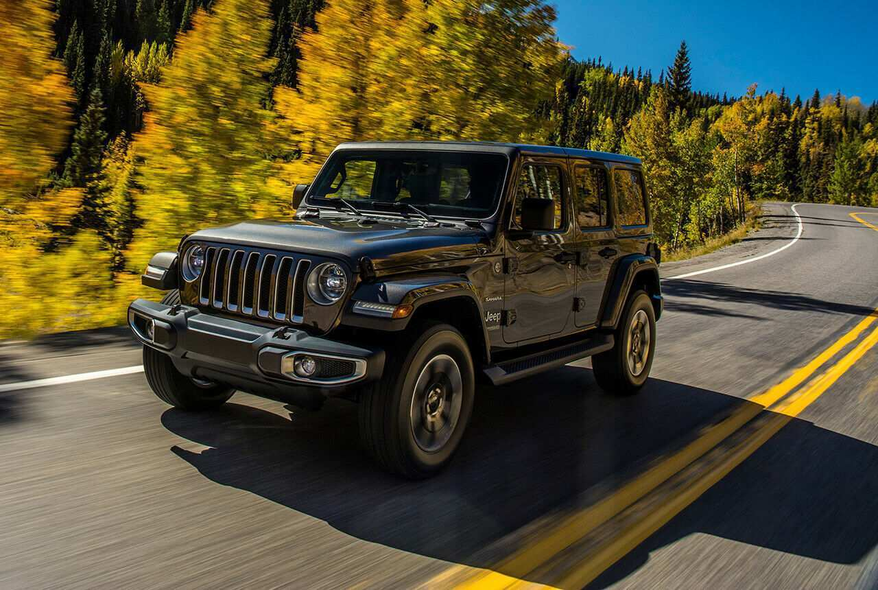12 A 2020 The Jeep Wrangler Images