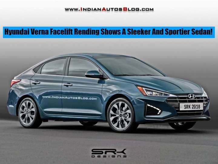 12 A Hyundai Verna Facelift 2020 Picture