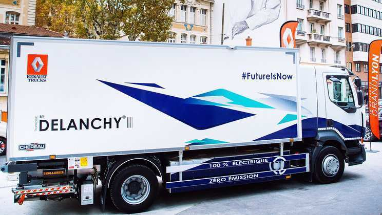 12 A Volvo Electric Truck 2019 Research New
