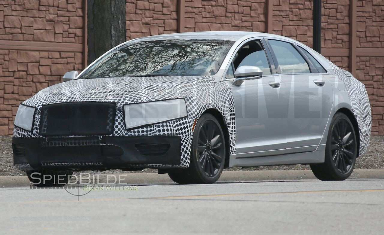 12 All New 2019 Lincoln MKS Spy Photos Wallpaper