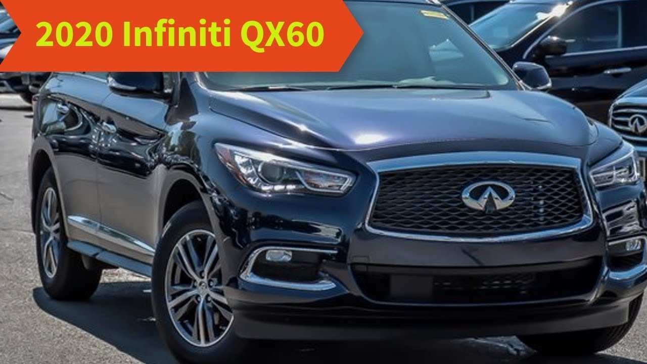 12 All New 2020 Infiniti Qx60 Spy Photos Photos