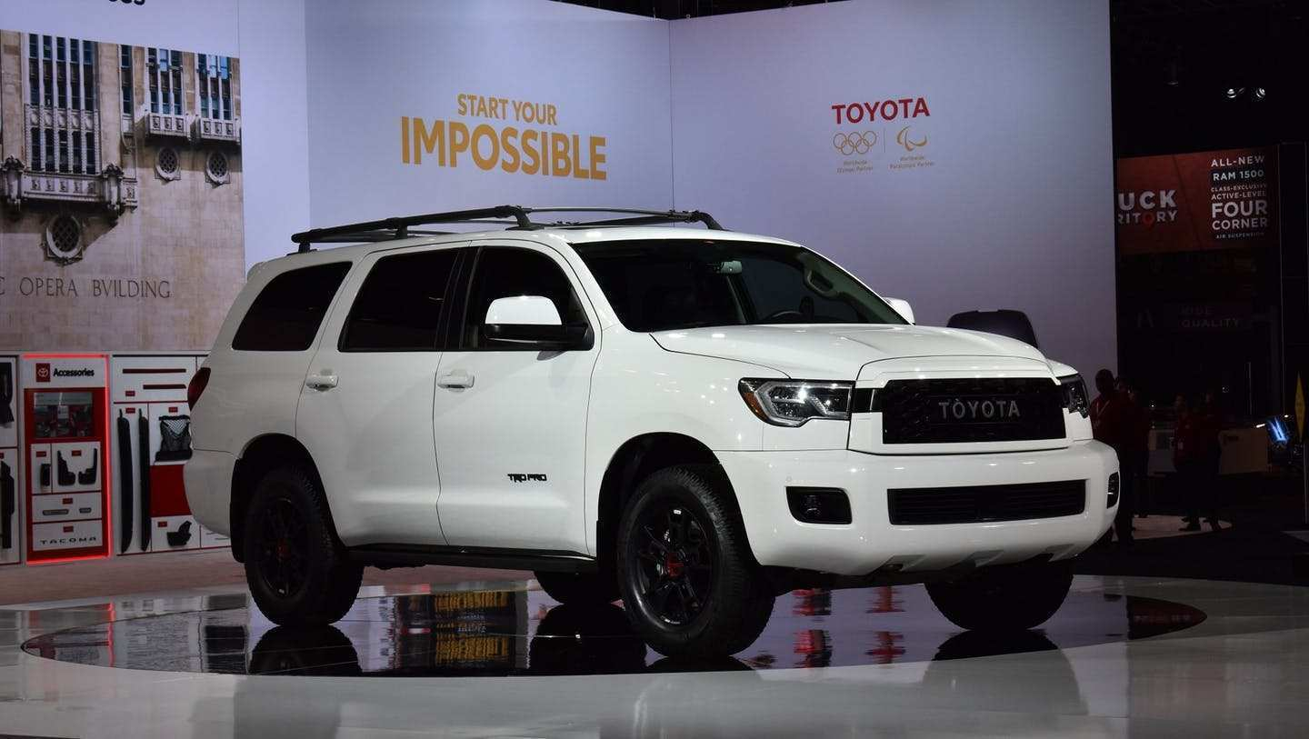 12 All New 2020 Toyota Sequoia Spesification