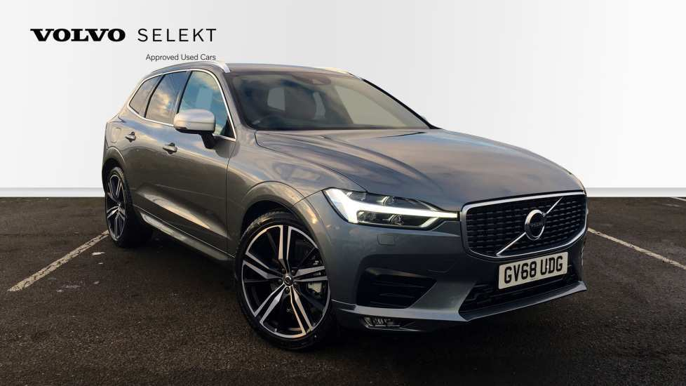 12 All New Volvo Xc60 2019 Osmium Grey Spy Shoot