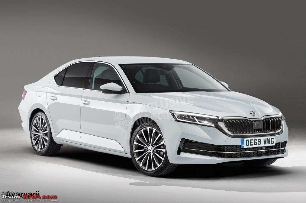 12 New 2020 Skoda Octavia India Egypt New Concept