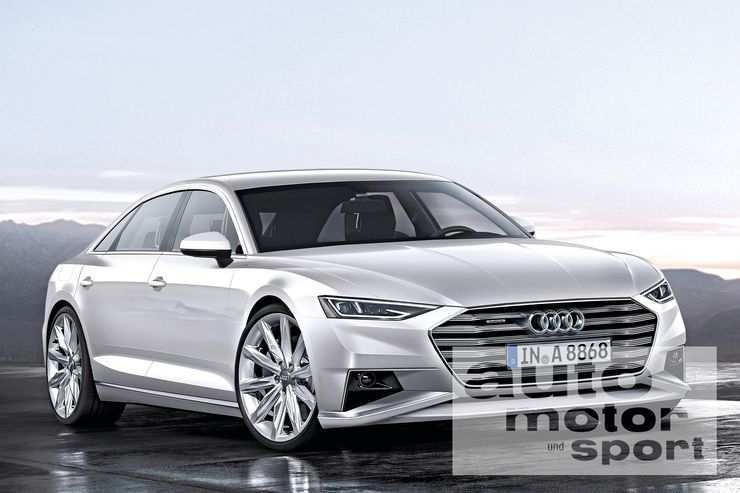 12 New Audi A8 Pictures
