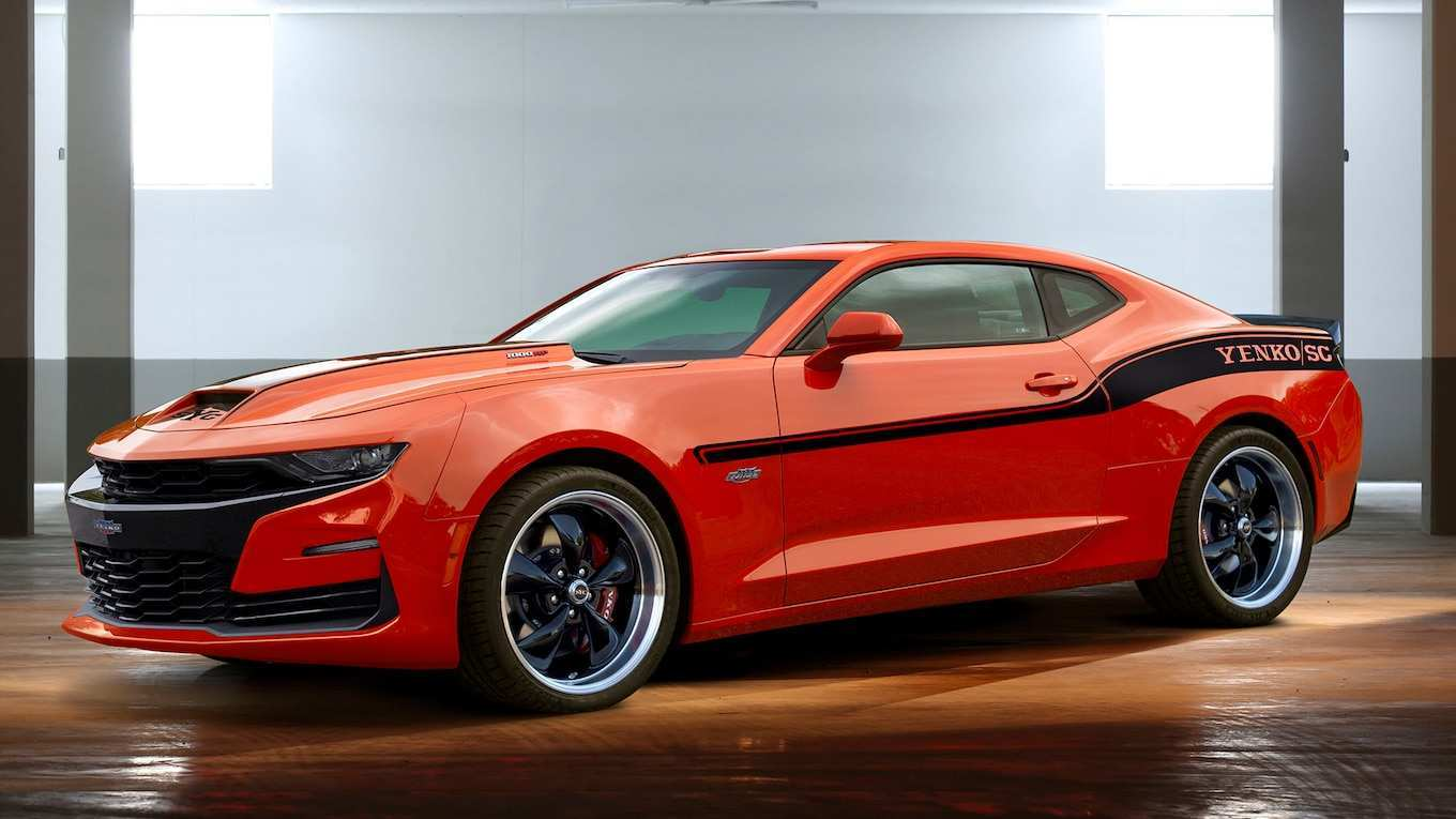 12 The 2019 Chevy Camaro Exterior