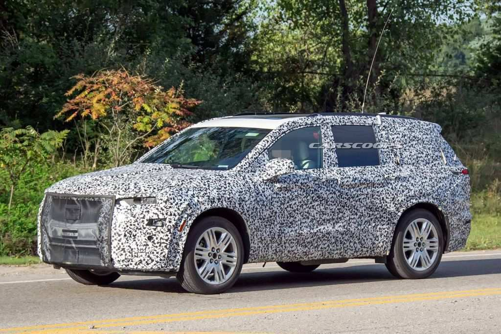 12 The 2020 Cadillac SRXSpy Photos Spy Shoot