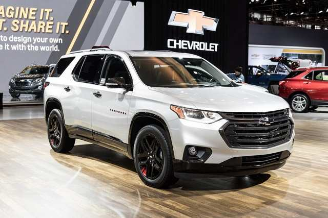 12 The 2020 Chevy Traverse Spy Shoot