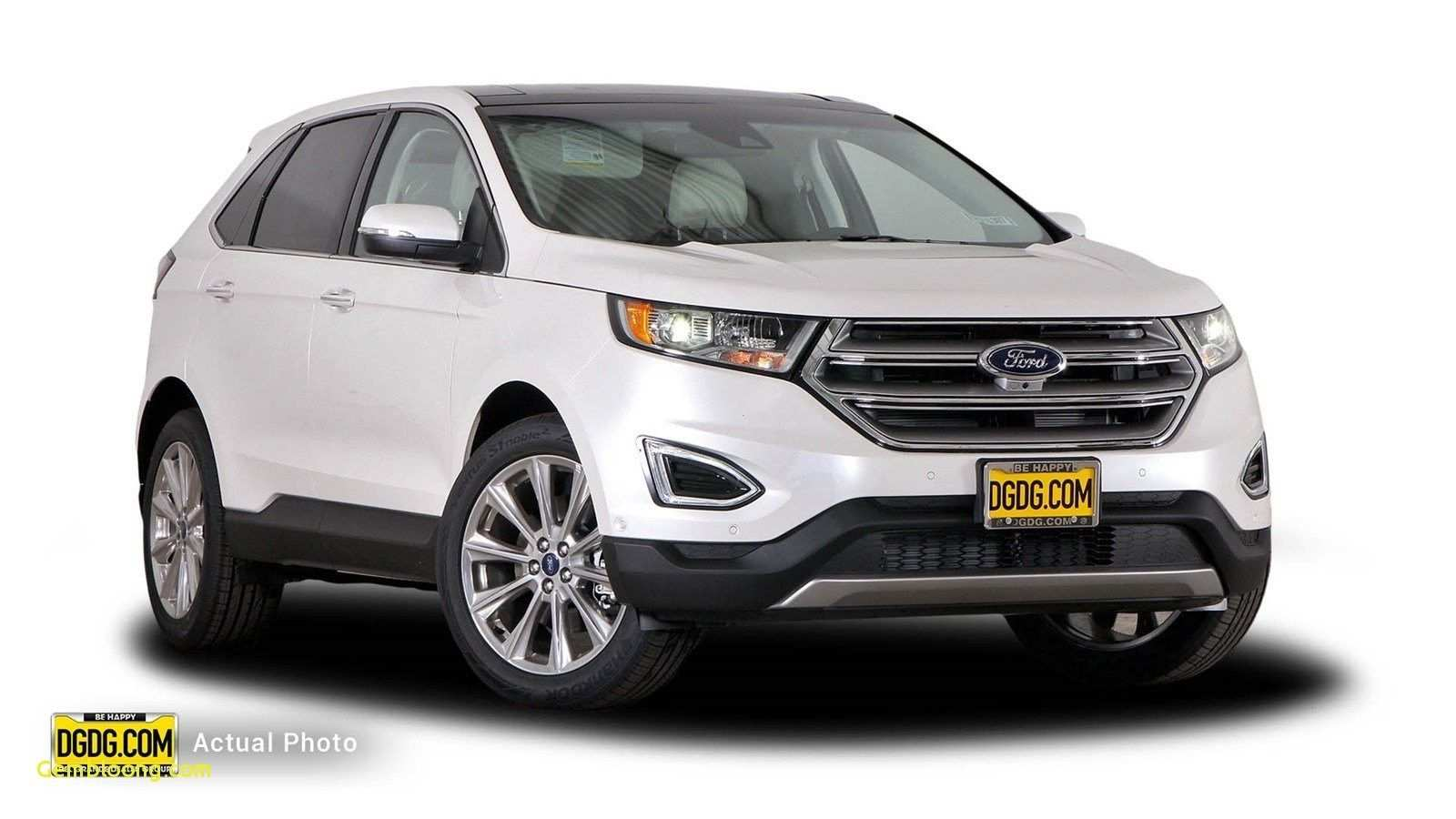 12 The 2020 Ford Edge New Design Model