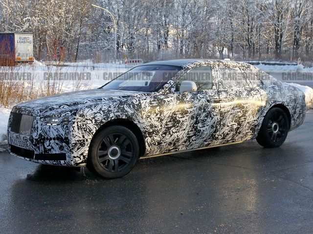 12 The 2020 Rolls Royce Phantoms Spy Shoot