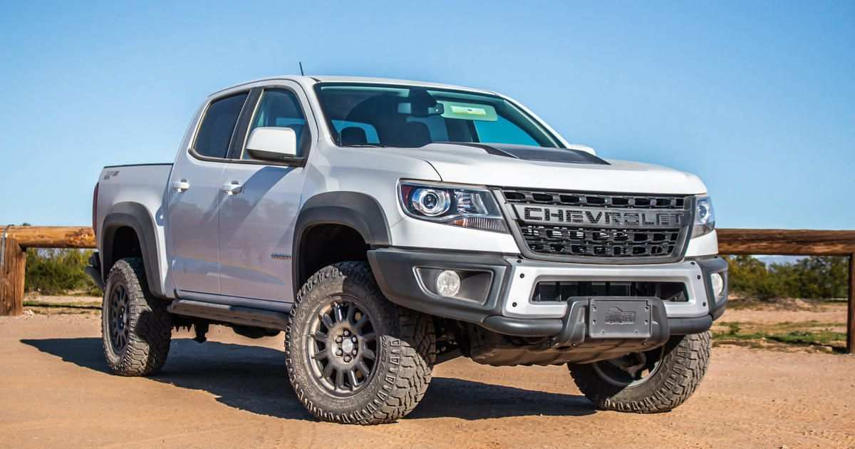 12 The Best 2019 Chevrolet Colorado Redesign And Concept