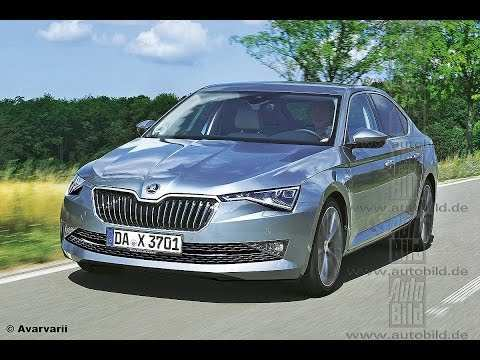 12 The Best Spy Shots Skoda Superb Price And Review