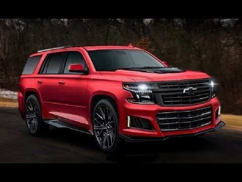 12 The Chevrolet Tahoe 2020 Overview