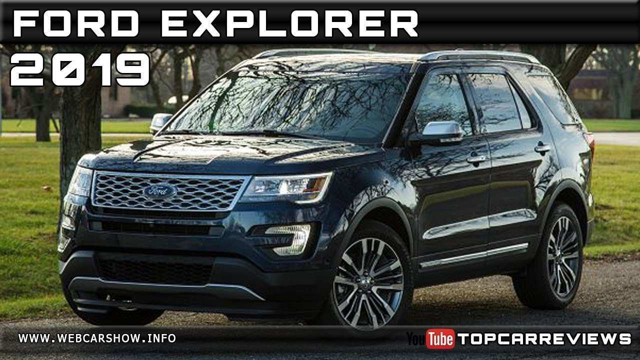 13 A 2019 Ford Explorer Redesign And Concept