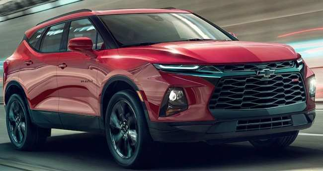 13 A 2019 The Chevy Blazer Speed Test