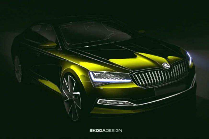 13 A 2020 The Spy Shots Skoda Superb Redesign And Review
