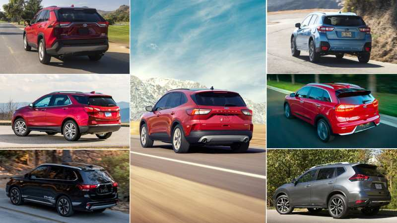 13 A Ford Hybrid Escape 2020 Configurations
