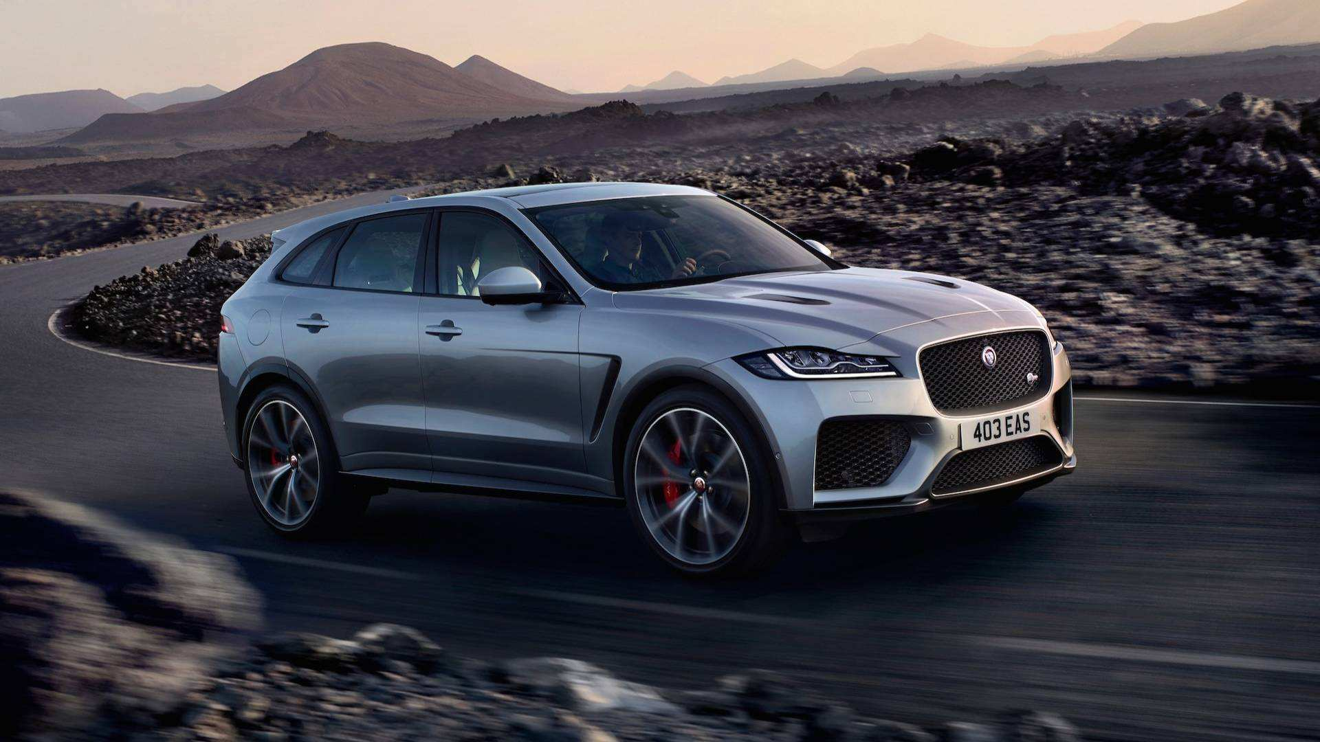 13 All New Jaguar F Pace 2020 Model Performance