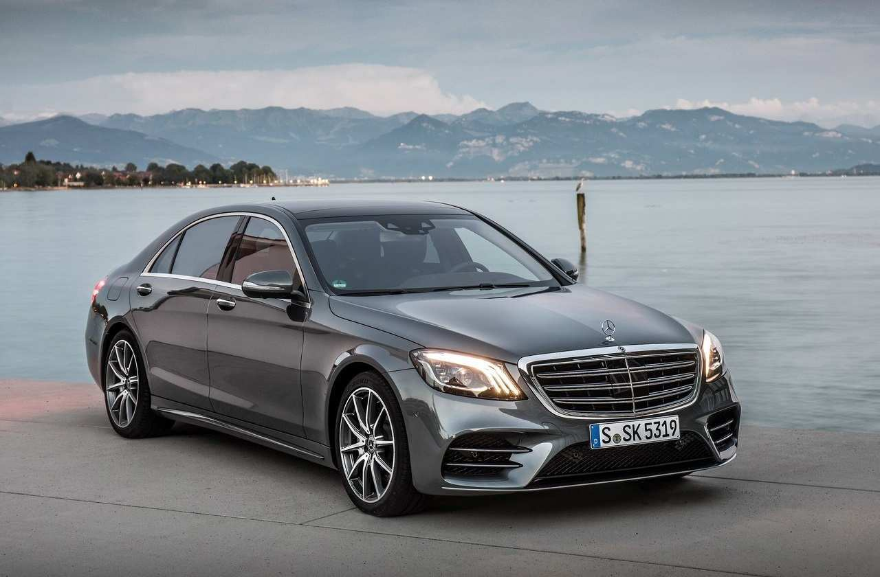 13 All New Mercedes S Class 2019 Spy Shoot