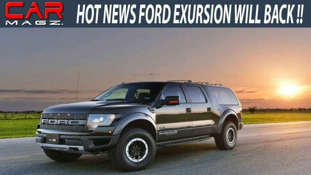 13 New 2019 Ford Excursion Diesel New Concept