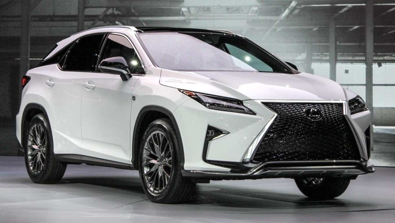 13 New 2019 Lexus Rx 350 F Sport Suv Redesign And Concept