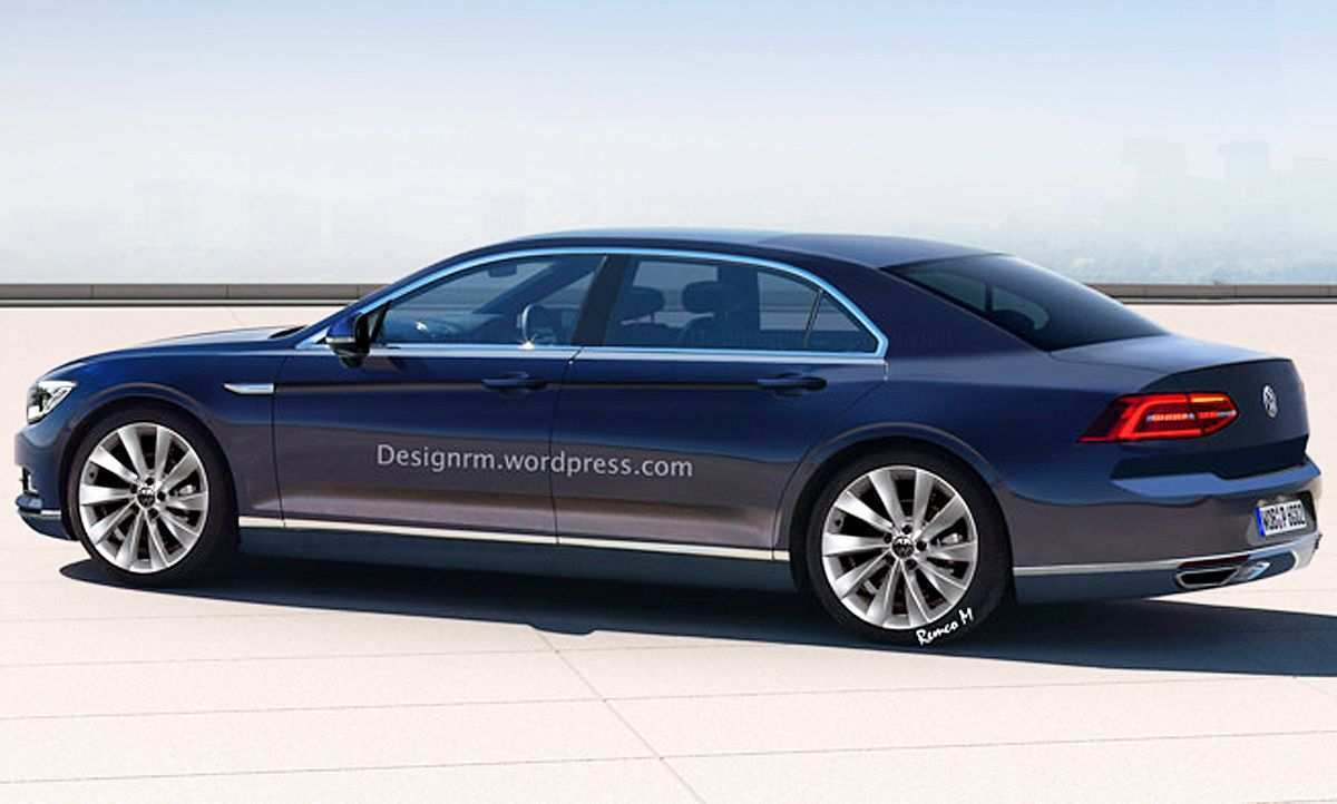 13 New 2020 VW Phaeton New Concept