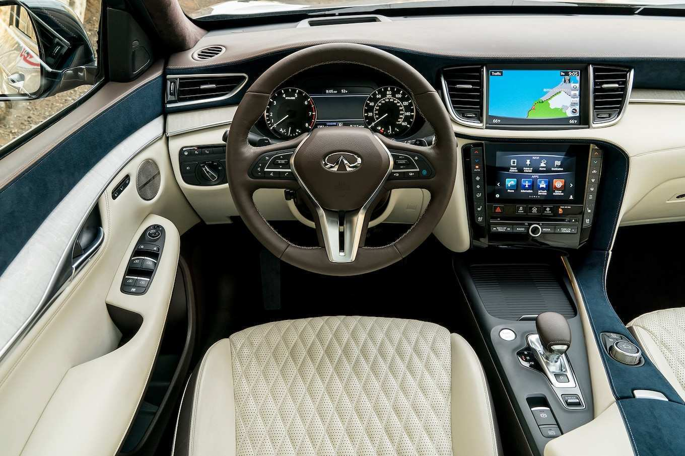 13 The 2019 Infiniti Qx50 Luxe Interior Spesification