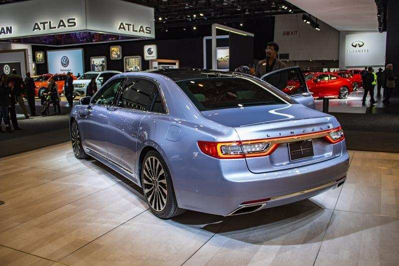13 The 2019 Lincoln Continental Spy Shoot