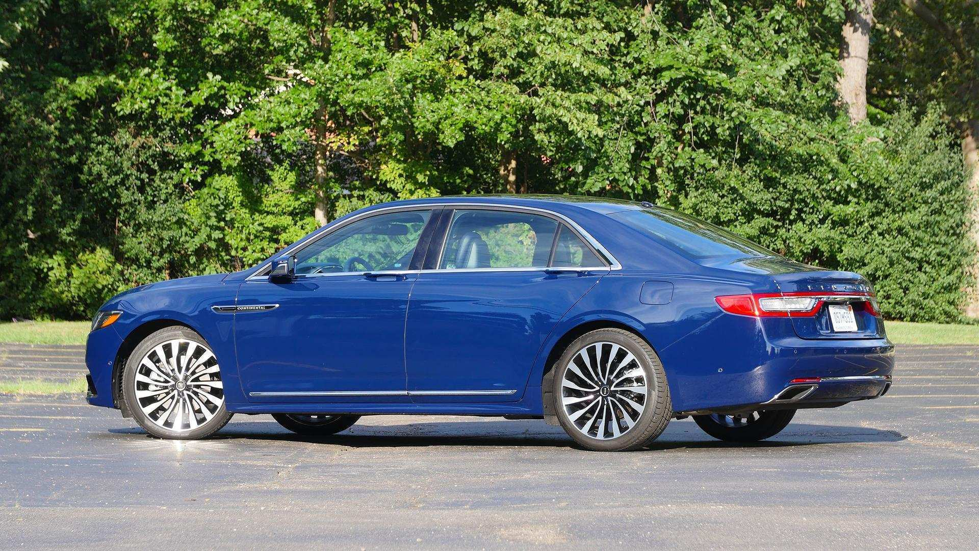13 The 2020 The Lincoln Continental Configurations