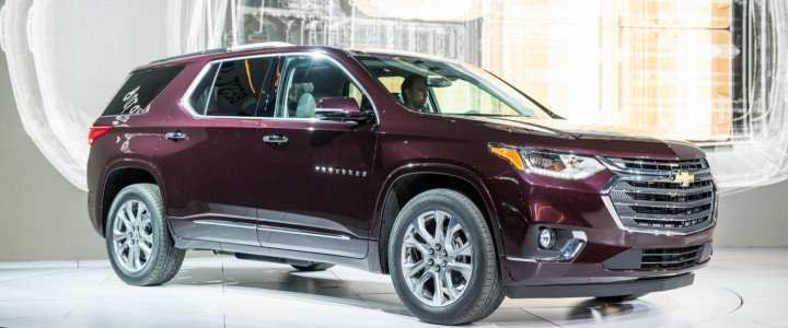 14 A 2019 Chevy Traverse Model