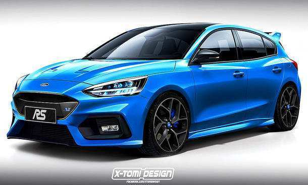 14 A 2019 Ford Focus RS Pictures