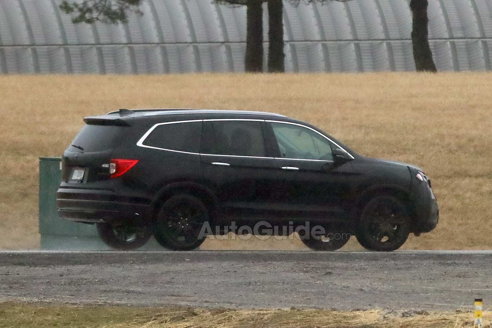 14 A 2019 Honda Pilot Spy Ratings