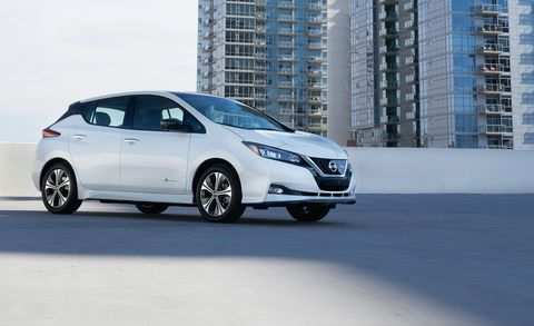 14 A 2019 Nissan Leaf Range Performance