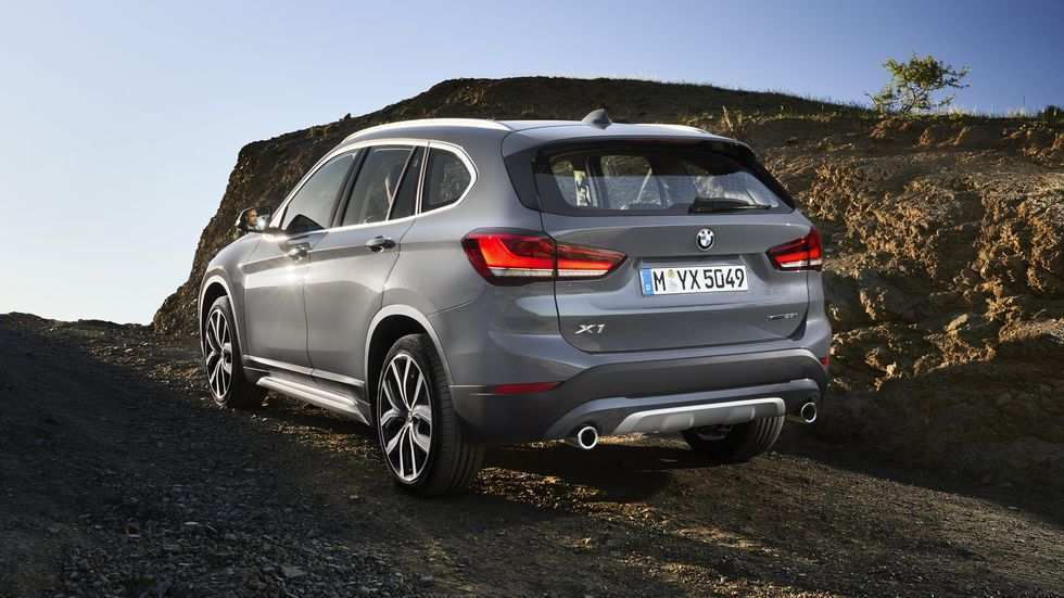 14 A 2020 BMW X1 Spy Shoot