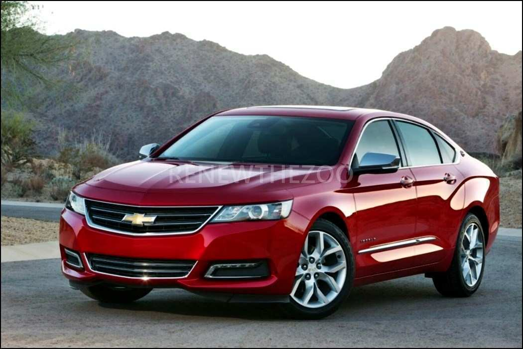 14 A 2020 Chevy Impala SS Model