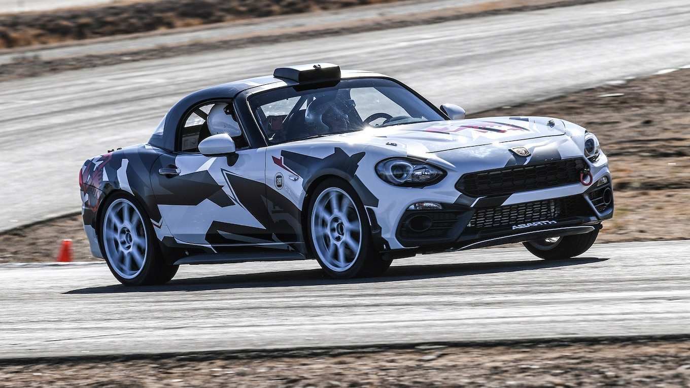14 A 2020 Fiat Spider Spy Shoot
