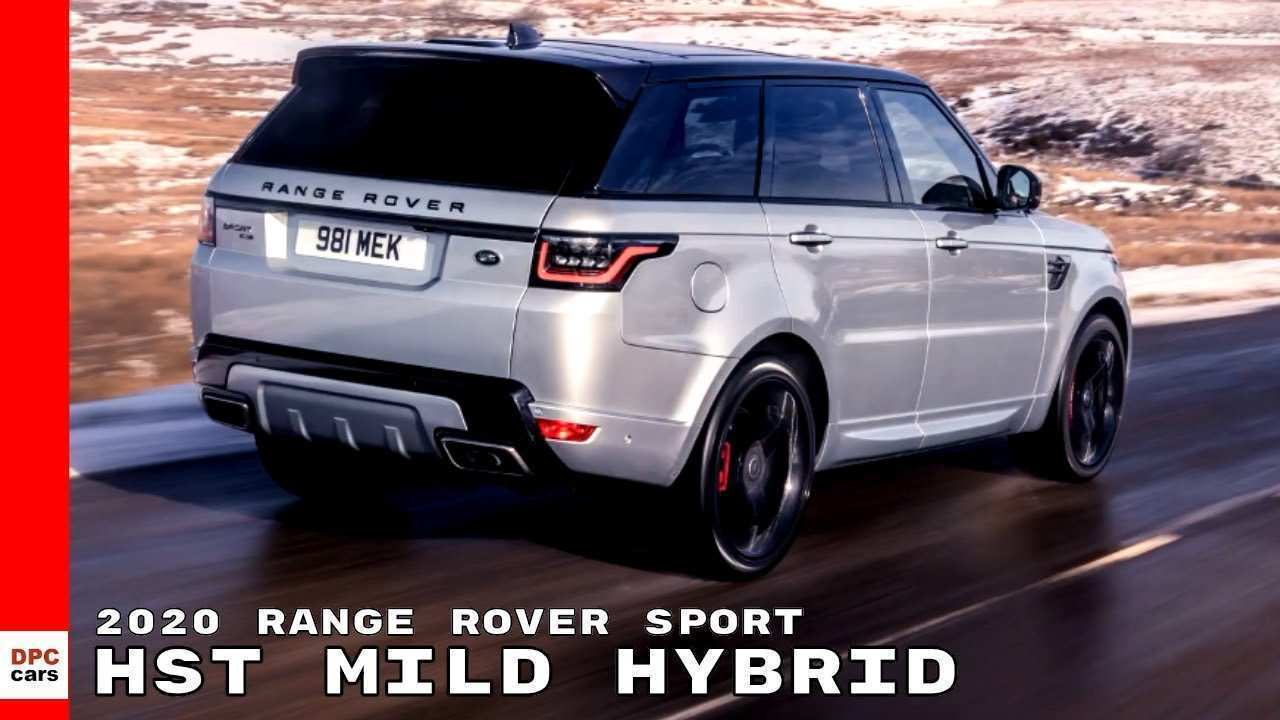 14 A 2020 Range Rover Sport Exterior And Interior